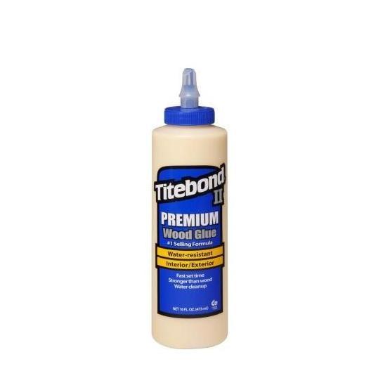 Keo dán gỗ Titebond II Premium Wood Glue 473ml