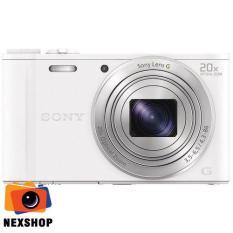Máy ảnh KTS Sony Wx350 18.2MP và zoom quang 20x (Trắng)