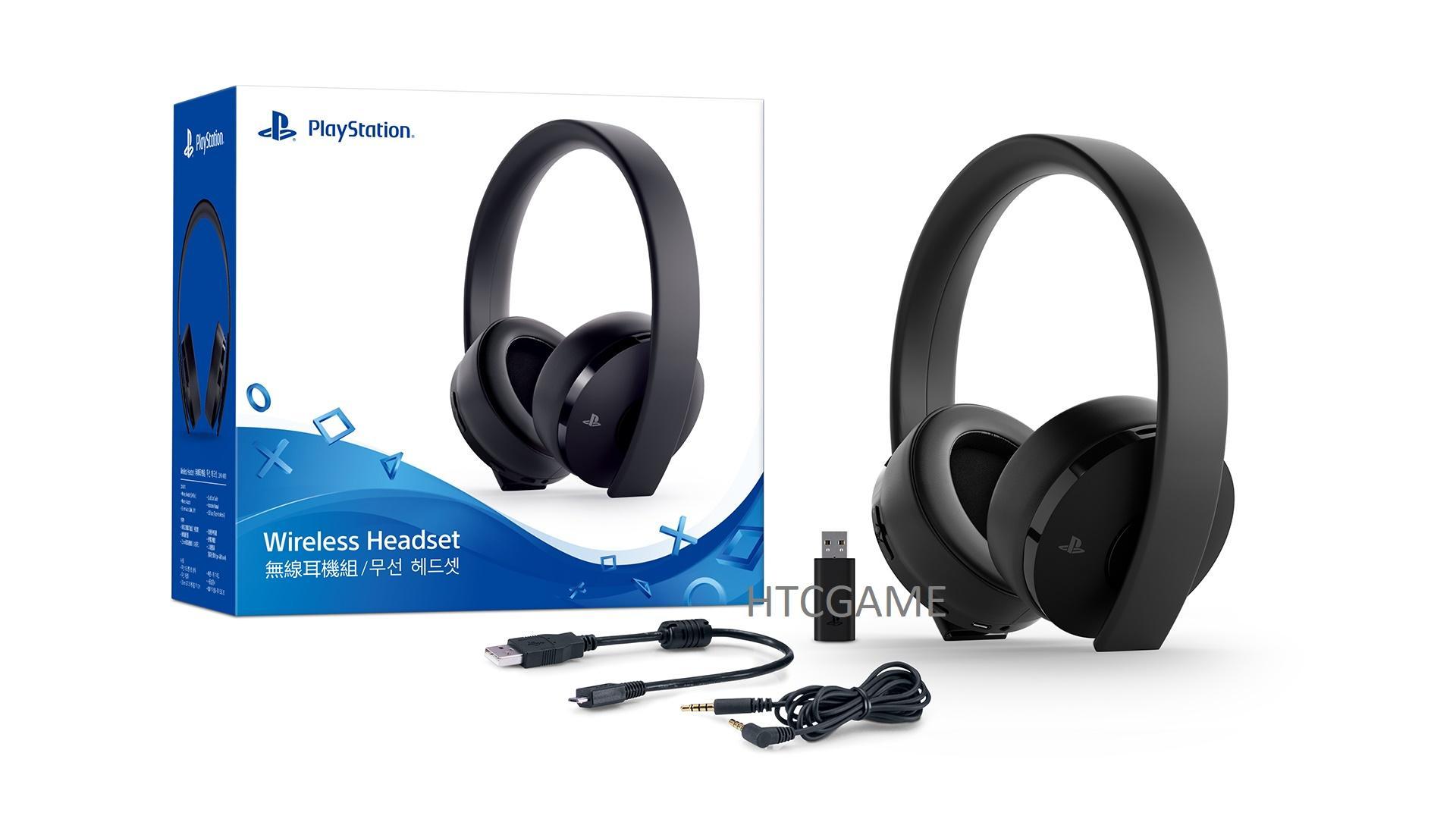 Tai nghe không dây Sony – CUHYA0080 dành cho Playstation – Gold Wireless Headset (Đen)