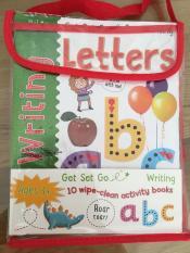 Sách Tiếng Anh cho bé – tập viết-xóa Wipe-clean (bộ 10 cuốn) – nhập từ UK