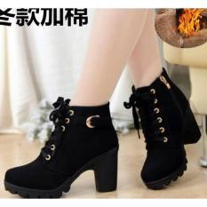 Giày nữ đẹp, Bốt nữ cao 7 phân, kiểu dáng đẹp, đi ôm chân, tạo cảm giác thoải mái khi đi cao gót – An's An's Store