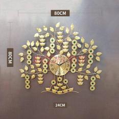 Đồng hồ trang trí cây tài lộc KBS-9502