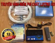 Đầu thu kỹ thuật số DVB T2 VTC T201 + antena 12m dây