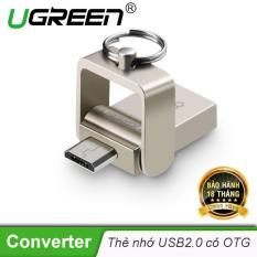Thiết bị USB thẻ nhớ 2.0 hỗ trợ cổng OTG dung lượng 8GB UGREEN CR133 30430 – Hãng phân phối chính thức
