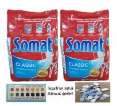 Tặng 3 Viên Tổng Hợp Finish Khi Mua Bột Rửa Bát Somat 1,2kg,( Lấy 2 túi tặng 6 viên hoặc que thử nước cứng)tđ alio