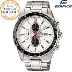 Đồng hồ nam dây kim loại EDIFICE chính hãng Casio Anh Khuê EF-547D-7A1VUDF
