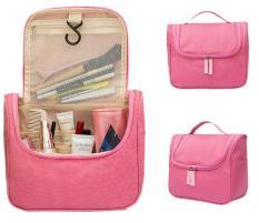 Túi dựng mỹ phẩm xách tay Pouch túi đựng đồ mỹ phẩm đa năng, chống thấm nước, kích thước 23 x 10.5 x 20cm