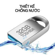 USB 32G nhỏ gọn Toshiba Bảo Hành 18 tháng 1 đổi 1 + Tặng ngay 01 đầu chuyển đổi OTG kết nối mọi thiết bị thông minh