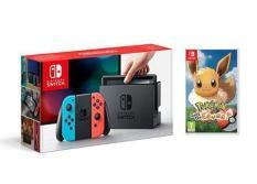 Máy Chơi Game Nintendo Switch Neon – Game Pokemon: Let's Go Eevee