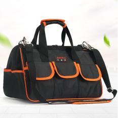 Túi đựng dụng cụ sửa chữa AIRAJ LOMASTER Y15 siêu bền chống thấm -Loại 15 inch (đen phối cam)