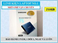 Ổ cứng SSD di động Samsung T5 250GB giao tiếp USB 3.1