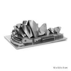 (Xem Video)Đồ chơi trẻ em – Đồ chơi lắp ghép mô hình 3D bằng thép Nhà hát Opera Sydney 21