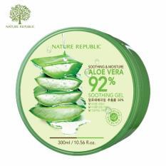 Gel Dưỡng Da Đa Năng Từ Lô Hội Nature Republic Soothing & Moisture Aloe Vera 92% Soothing Gel 300ml