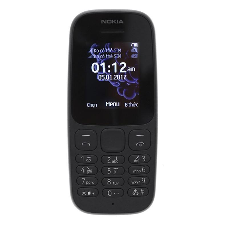 Điện thoại Nokia 105 1 Sim (2017) – Hãng phân phối chính thức