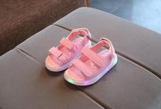 Sandal có đèn led cho bé – Màu hồng
