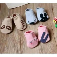 Bộ 5 đôi tất bàn Hàn Quốc cho bé giá rẻ