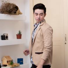 Áo khoác vest nam a274 (HÌNH THẬT) kiểu dáng sang trọng chất kaki dày đẹp | áo vest nam | áo khoác giả vest