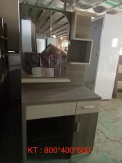 Bàn trang điểm kèm ghế Mina Furniture MN-BPMDF-3 (800*400*500)