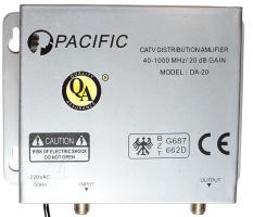 Khuếch đại truyền hình cáp PACIFIC DA20 (xám, bảo hành đến 2 năm)