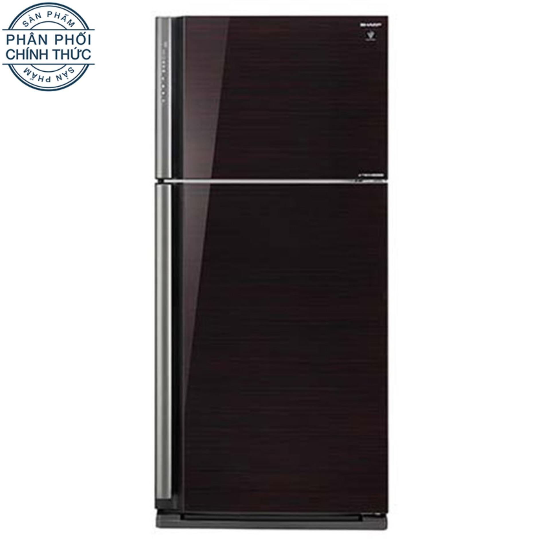 Tủ lạnh Sharp Dolphin SJ-XP630PG-BK 627L (Đen)