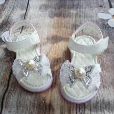 Sandal bé gái phong cách hàn quốc