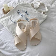 ( VIDEO ) Giày Sandal Nữ Quai Chéo Cá Tính 2018 3Fashion Shop – 3127