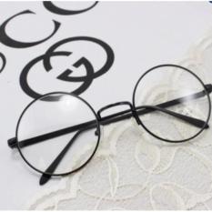 Mắt kính ngố tròn Nobita cao cấp (đen)