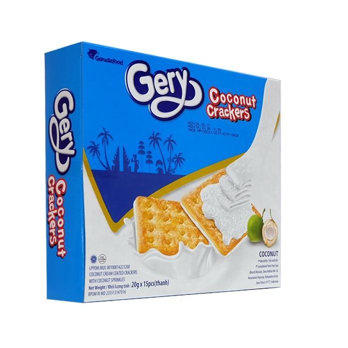 Bánh Gery Coconut Crackers 300 gr