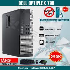 Dell Optiplex 790 Intel Core i3-2120, Ram 4GB, HDD 500GB – Tặng Phím, Chuột, bàn di.