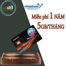 Sim 4G Vinaphone D500 Miễn Phí 5,5G/Tháng Trọn Gói 1 Năm