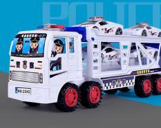 Bộ đồ chơi ô tô cảnh sát (gồm 1 ô tô to và 4 ô tô nhỏ)