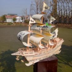 Đồ chơi lắp ráp gỗ 3D Mô hình Thuyền Big Song Merchant Ship