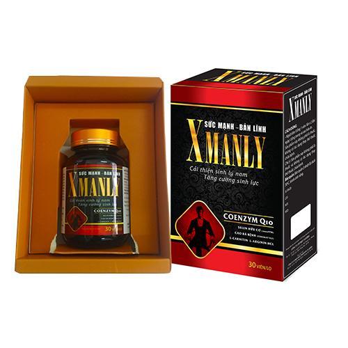 Bổ thận tráng dương Xmanly Tăng cường testosteron nội sinh