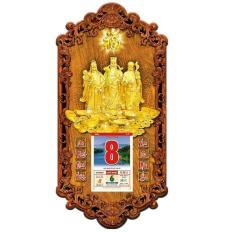 Lịch gỗ 3D Phúc Lộc Thọ 3DMoi05