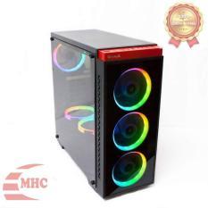 Case máy tính Vitra ELSA G1 BLACK MẶT KÍNH CHỊU LỰC