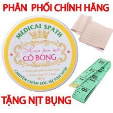 Kem tan mỡ Cô Bông (250g) giảm mỡ bụng tặng NỊT BỤNG và THƯỚC DÂY