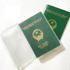 Combo 3 bao hộ chiếu (Passport) dẻo trắng trong rất bền