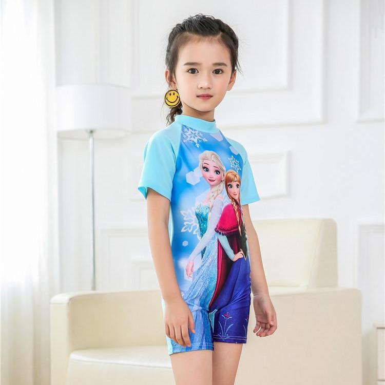 Bộ quần áo tắm đồ bơi bé gái elsa anna M155