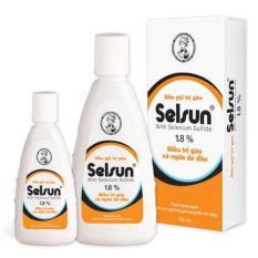 Dầu gội trị gàu Selsun 1.8% – Dành cho người bị gàu nặng đến rất nặng (chai 100ml)