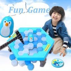 Bộ trò chơi bẫy chim cánh cụt – phá băng cực vui nhộn Penguin Trap