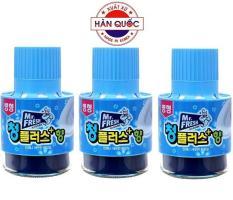 Bộ 3 Chai thả bồn cầu tự động làm sạch diệt khuẩn và làm thơm Mr.Fresh GD303