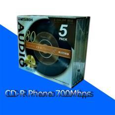 Đĩa CD Phono-R 700Mbps Misubitshi type-80 Model – VMUR80PHM1 (1 chiếc)