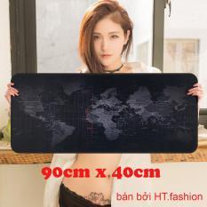 HT.fashion – Bàn di chuột bản đồ (pad bản đồ) khổ lớn 90 x 40cm