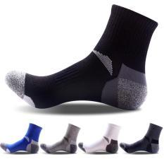 Phụ kiện giày nam vớ cotton cao cổ (5 đôi) Vớ Store – A034
