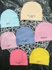 Bộ 2 nón vải cotton cho bé sơ sinh từ 0-6 tháng. Nón xí nghiệp. Mũ vải cho bé. Mũ trẻ em