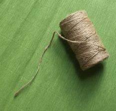 1 cuộn Dây thừng sợi 3 ly làm hade made dài 100 mét