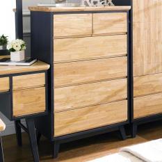 Tủ ngăn kéo 6 ngăn NB-Blue gỗ tự nhiên