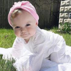 Mũ vải Turban cho bé