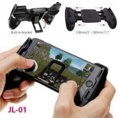 COMBO ( Giá hủy diệt ) Tay cầm chơi game Liên Quân,PUPG kiêm giá đỡ điện thoại có nút bấm – Gamepad ( Tặng 2 Nút joystick)