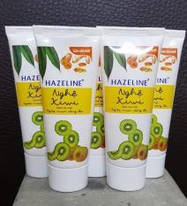 Combo 5 tuýp kem rửa mặt sáng da hazeline kiwi nghệ 15g+ Túi đựng mỹ phẩm xinh xắn